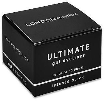 London Copyright Ultimate Gel Eyeliner - Delineador de ojos en gel
