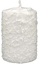 Perfumería y cosmética Vela decorativa, 7,5x14cm, blanca - Artman Christmas Candle White