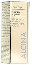 Perfumería y cosmética Gel para el contorno de ojos con extractos vegetales, efecto antiinflamatorio - Alcina E Eye Gel