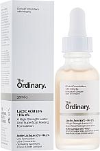 Perfumería y cosmética Peelinf facial con 10% ácido láctico y 20% ácido hialurónico - The Ordinary Lactic Acid 10% + HA 2%