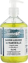 Perfumería y cosmética Jabón líquido de aceites vegetales con oliva - La Corvette Liquid Soap