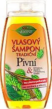 Perfumería y cosmética Champú con extracto de lúpulo sin parabenos ni siliconas - Bione Cosmetics Traditional Beer Hair Shampoo