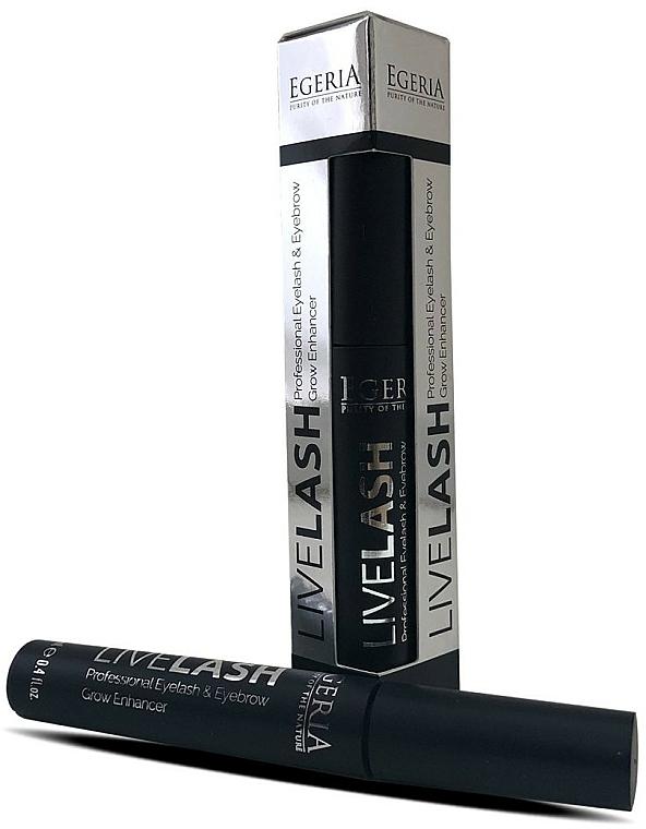 Sérum activador del crecimiento de cejas y pestañas - Egeria Livelash Eyelash & Eyebrow Grow Enhancer