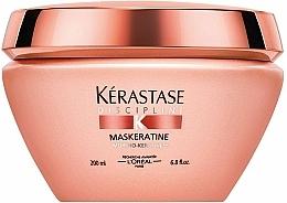 Perfumería y cosmética Mascarilla capilar alisadora con queratina para cabello rebelde - Kerastase Discipline Maskeratine