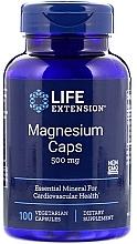 Perfumería y cosmética Complemento alimenticio de Magnesio, en cápsulas 500mg - Life Extension Magnesium Caps