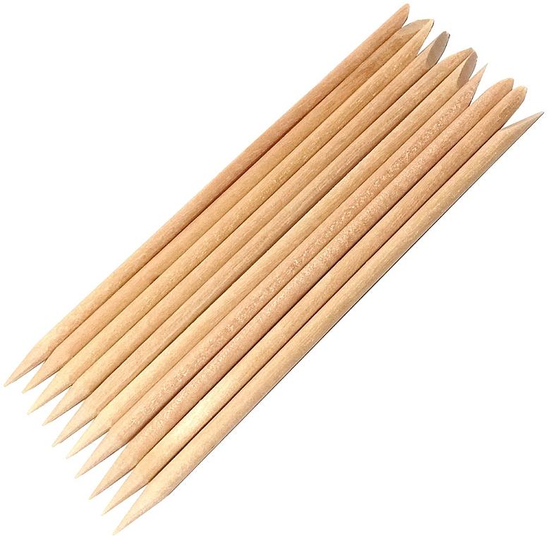 Palitos empujacutículas de madera, 10uds. - Kabos