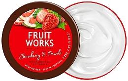 Perfumería y cosmética Manteca corporal, fresa & pomelo - Grace Cole Fruit Works Body Butter Strawberry & Pomelo