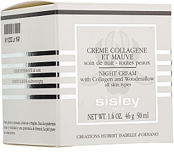 Crema de noche con colágeno - Sisley Creme Collagene Et Mauve Botanical Night Cream — imagen N3