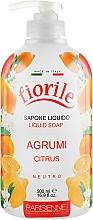 Perfumería y cosmética Jabón líquido con aroma a cítricos - Parisienne Italia Fiorile Citrus Liquid Soap