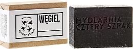 Perfumería y cosmética Jabón con carbón activado & manteca de karité - Cztery Szpaki Soap
