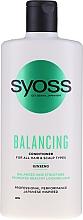 Perfumería y cosmética Acondicionador con extracto de ginseng - Syoss Balancing Ginseng Conditioner