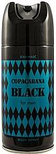 Perfumería y cosmética Desodorante - Jean Marc Copacabana Black For Men