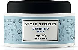 Perfumería y cosmética Cera moldeadora de cabello, fijación media - Alfaparf Milano Style Stories Defining Wax Medium Hold