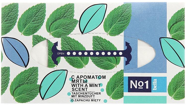 Toallitas de doble capa con aroma a menta - Bella Mint Wipes