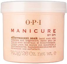 Perfumería y cosmética Polvo de baño efervescente para manicura con minerales - O.P.I. Manicure Effervescent Soak