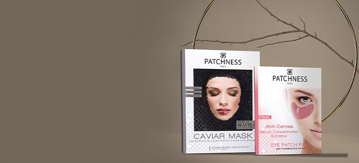 Por la compra de dos productos Patchness, llévate unos parches de ojos de regalo