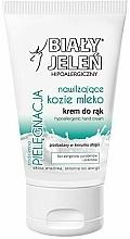 Perfumería y cosmética Crema de manos hipoalergénica con leche de cabra - Bialy Jelen Hypoallergenic Hand Cream