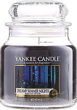 Perfumería y cosmética Vela en tarro con vainilla & cedro - Yankee Candle Dreamy Summer Nights