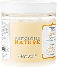 Perfumería y cosmética Mascarilla capilar 100% natural con aceite de almendras y pistacho - Alfaparf Precious Nature Colored Hair Mask