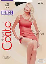 Perfumería y cosmética Pantis Nuance, 40 Den, negro - Conte