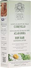 Perfumería y cosmética Loción aclarante de vello con extracto de camomila - Intea Body Hair Lightening Spray With Natural Camomile Extract