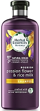 Perfumería y cosmética Champú de leche de arroz u flor de la pasión para cabello dañado - Herbal Essences Passion Flower & Rice Milk Shampoo