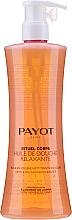 Perfumería y cosmética Aceite de ducha relajante con extractos de jazmín y té blanco - Payot Rituel Corps Relaxing Shower Oil