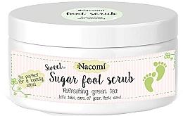 Perfumería y cosmética Exfoliante natural de azúcar para pies con manteca de karité y aceite de jojoba - Nacomi Sugar Foot Peeling