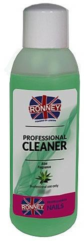 Desengrasante de uñas con aroma a aloe vera - Ronney Professional Nail Cleaner Aloe