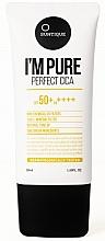 Perfumería y cosmética Crema protectora solar para piel sensible - Suntique I'm Pure Perfect Cica SPF 50+ / PA +++