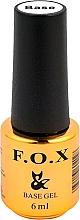 Perfumería y cosmética UV capa base - F.O.X Base Strong Gel