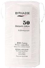 Perfumería y cosmética Discos desmaquillantes de algodón, 50uds. - Byphasse Cotton