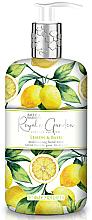 Perfumería y cosmética Jabón de manos líquido con limón & albahaca - Baylis & Harding