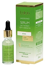 Perfumería y cosmética Sérum para rostro, cuello y escote con áloe - Loton Softening Serum With Aloe
