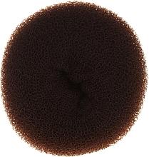 Perfumería y cosmética Esponja de moño, 15x6.5cm, marrón - Ronney Professional Hair Bun 053