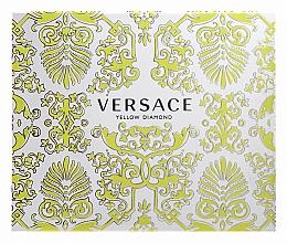 Versace Yellow Diamond - Set (eau de toilette/50ml + loción corporal perfumada/50ml + gel de ducha perfumado/50ml) — imagen N1