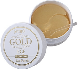 Perfumería y cosmética Parches de hidrogel para contorno de ojos con oro coloidal y extracto de ginseng - Petitfee & Koelf Premium Gold & EGF Eye Patch