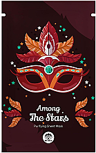 Perfumería y cosmética Mascarilla facial de tejido purificante con extracto de cacao - Dr Mola Among The Stars Purifying Mask