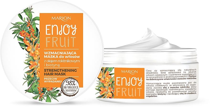 Mascarilla capilar natura con aceite de espino amarillo - Marion Enjoy Fruit Strengthening Hair Mask