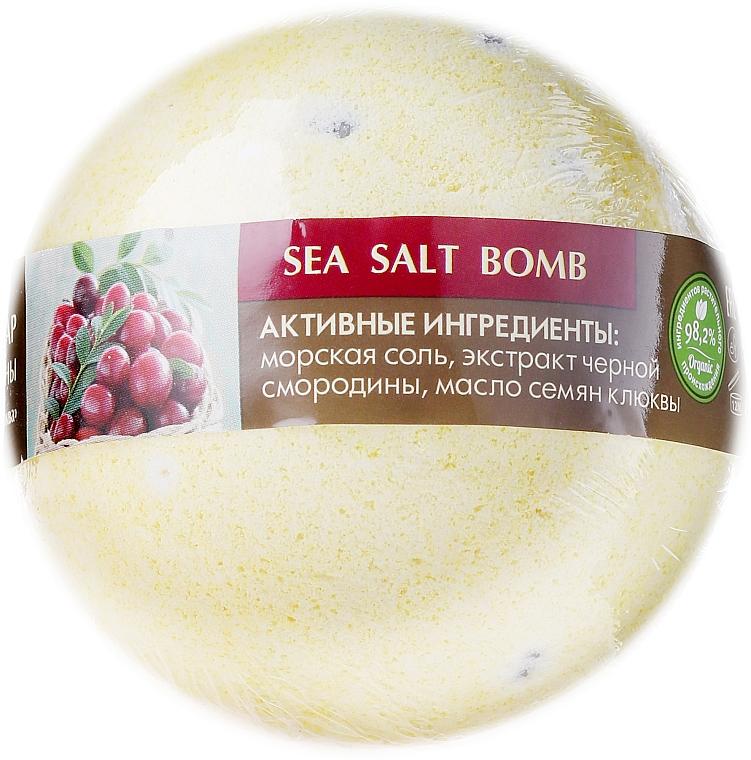 Bomba de baño con grosella negra y arándano - ECO Laboratorie Sea Salt Bomb