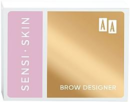 Perfumería y cosmética Paleta de sombras de cejas - AA Sensi Skin Brow Designer
