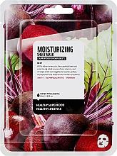 Perfumería y cosmética Mascarilla facial de algodón con remolacha - Superfood For Skin Moisturizing Sheet Mask