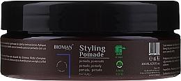 Perfumería y cosmética Pomada para cabello con arcilla blanca - BioMan Styling Pomade