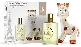 Perfumería y cosmética Parfums Sophie La Girafe - Set para bebés (agua perfumada/100ml + peluche)