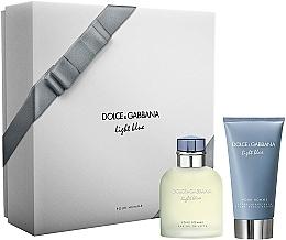 Perfumería y cosmética Dolce & Gabbana Light Blue Pour Homme - Set (eau de toilette/75ml + bálsamo aftershave/75ml)