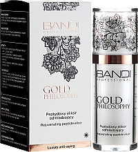 Perfumería y cosmética Elixir facial de péptidos rejuvenecedor - Bandi Professional Gold Philosophy Rejuvenating Peptide Elixir