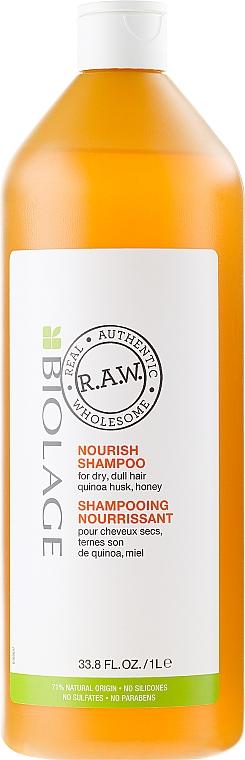 Champú reparador con quinoa y miel - Biolage R.A.W. Nourish — imagen N3