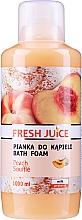 Perfumería y cosmética Espuma de baño con aroma a souflé de melocotón - Fresh Juice Pach Souffle