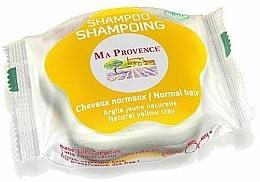 Perfumería y cosmética Champú sólido con arcilla amarilla natural, manteca de karité y aceite de ricino - Ma Provence Shampoo