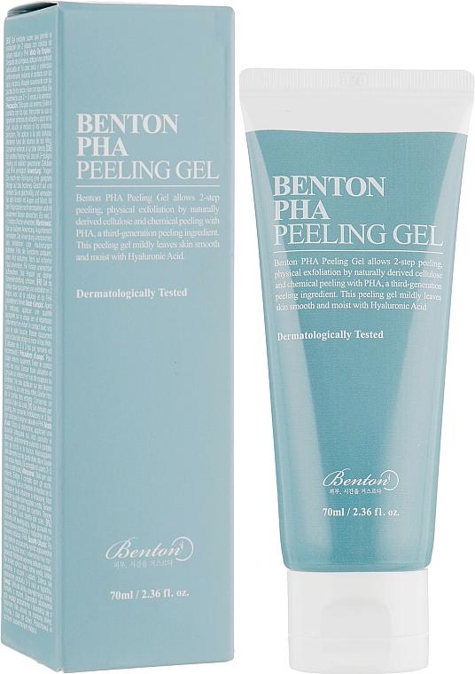 Peeling gel facial con PHA ácidos - Benton PHA Peeling Gel